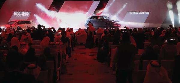 Porsche launch in Kuwait