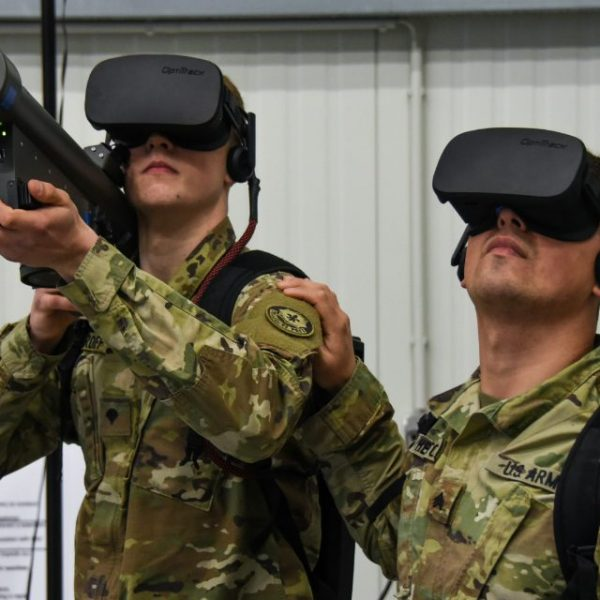 VR being used my the military