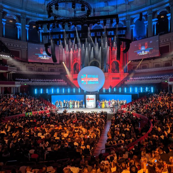 Event being hosted at the Royal Albert Hall