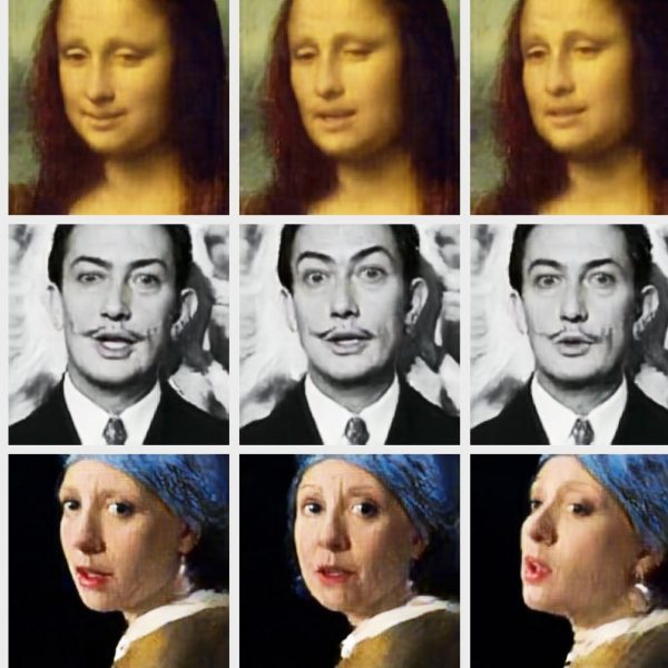 Example of different deepfakes