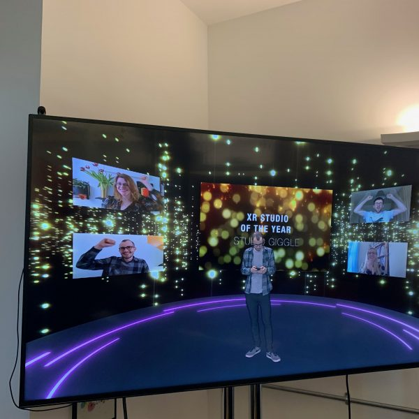 Example of a virtual event agency in our XR studio