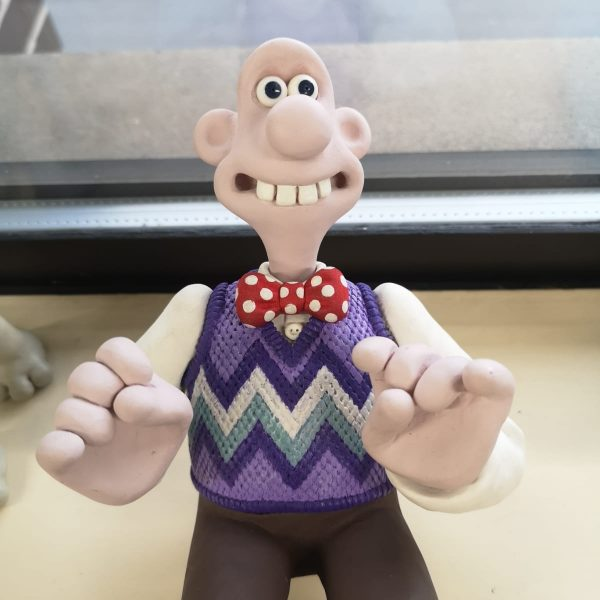 Wallace from Wallace and Gromit