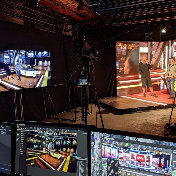 Pandemic work: Behind the scenes in our XR studio