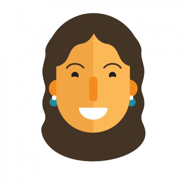 Digital avatar of Sophie face, Studio Giggle's new digital artist