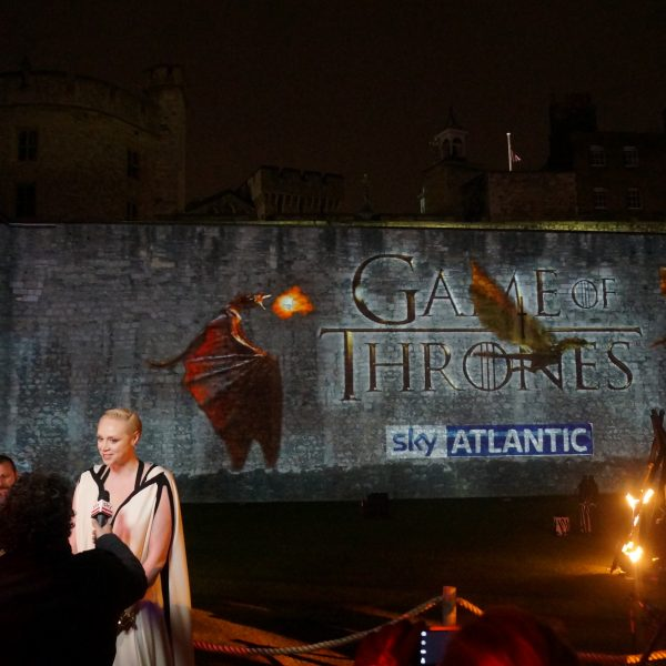 Return to Live events: image from Game Of Thrones World Premiere