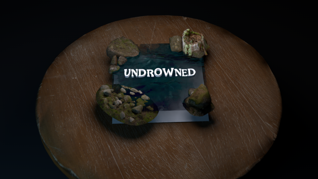 Augmented Reality in use for Undrowned