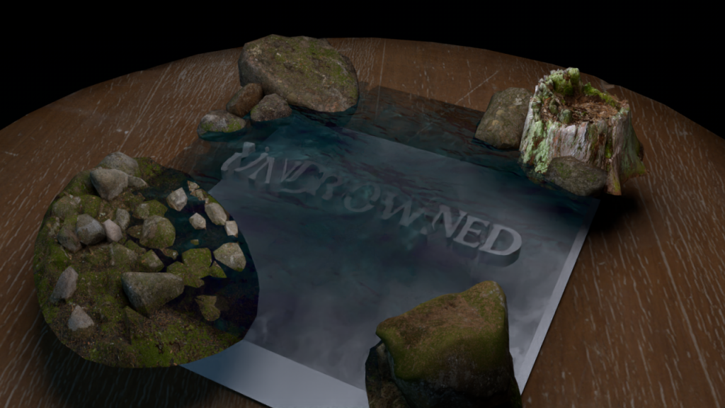 Augmented Reality flyer for Undrowned